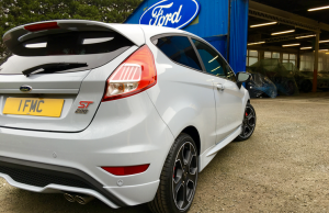 2016 Ford Fiesta ST200 rear