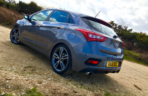 2016 Hyundai i30 Turbo rear