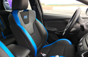 2016 Ford Focus RS inside