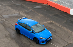 2016 Ford Focus RS pitlane