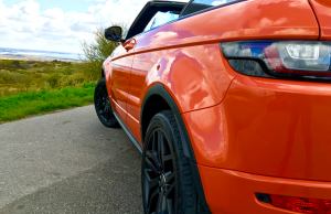 2016 Range Rover Evoque Convertible close