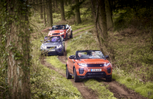 2016 Range Rover Evoque Convertible off road
