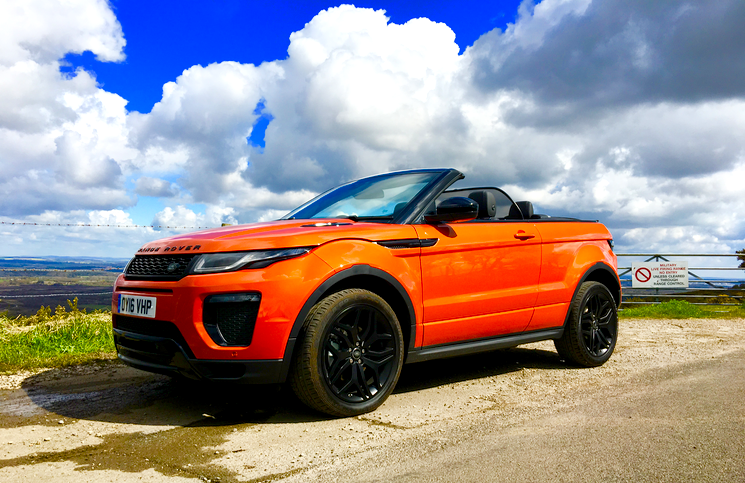 2016 Range Rover Evoque Convertible profile