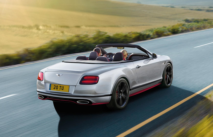 Bentley Continental GT Speed Black Edition convertible