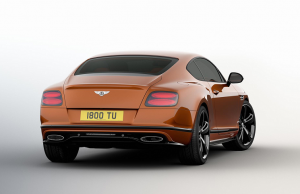 Bentley Continental GT Speed Black Edition coupe 1