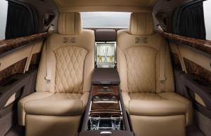 Bentley Mulsanne First Edition rear cabin