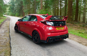 Type R red rear