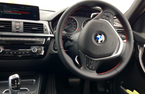 2016 BMW 3 Series 330e inside