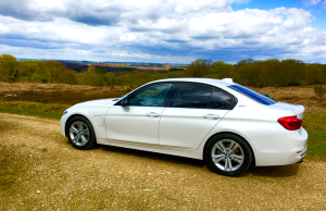 2016 BMW 3 Series 330e profile
