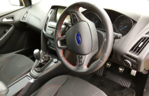 2016 Ford Focus Black Edition inside