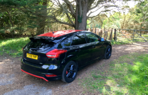 2016 Ford Focus Black Edition rear