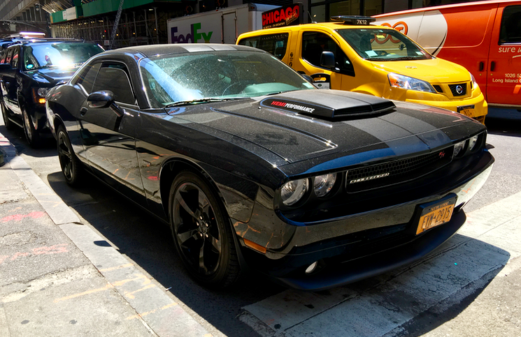 NYC Dodge Challenger