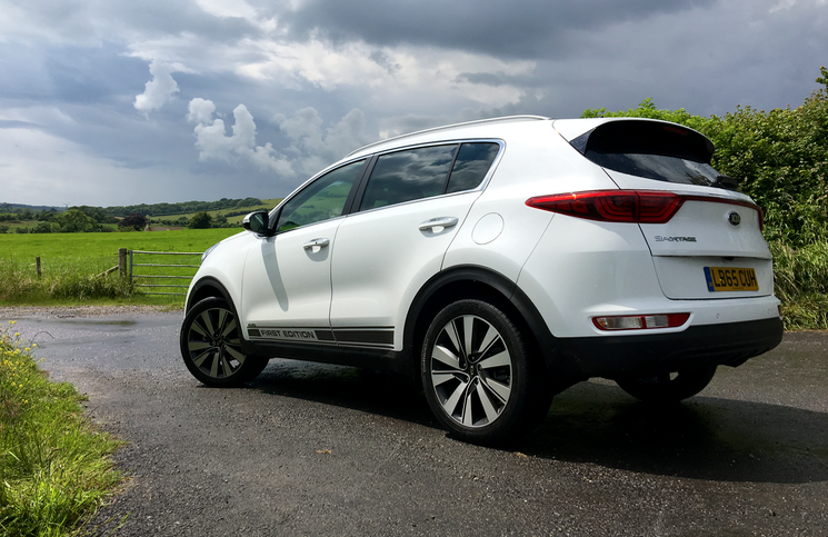 2016 Kia Sportage First Edition rear
