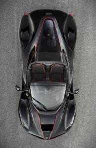 LaFerrari Spider top