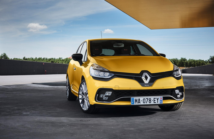 Renault Clio RS Front