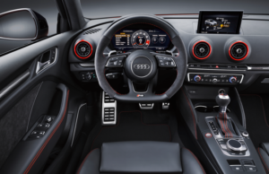 Audi RS3 Saloon inside