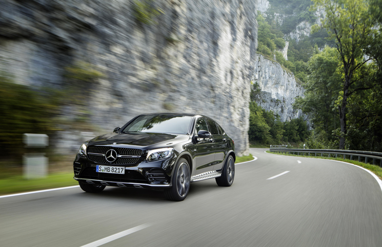 Mercedes-AMG GLC 43 4MATIC Coupe Front