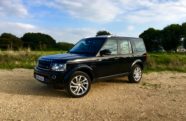 Land Rover Discovery Landmark front