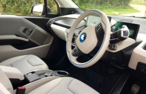 2017 BMW i3 94ah inside