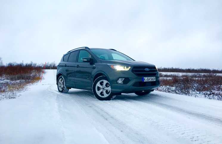 2017 ford kuga st line front