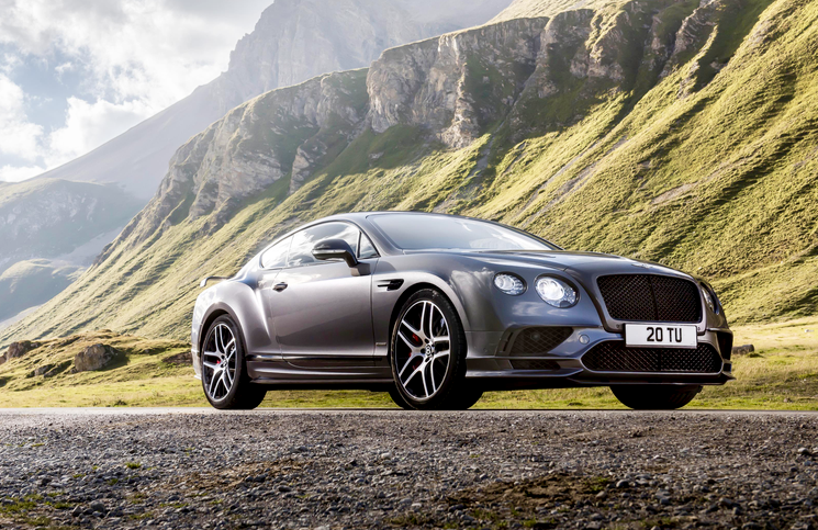 2017 Bentley Continental Supersports front