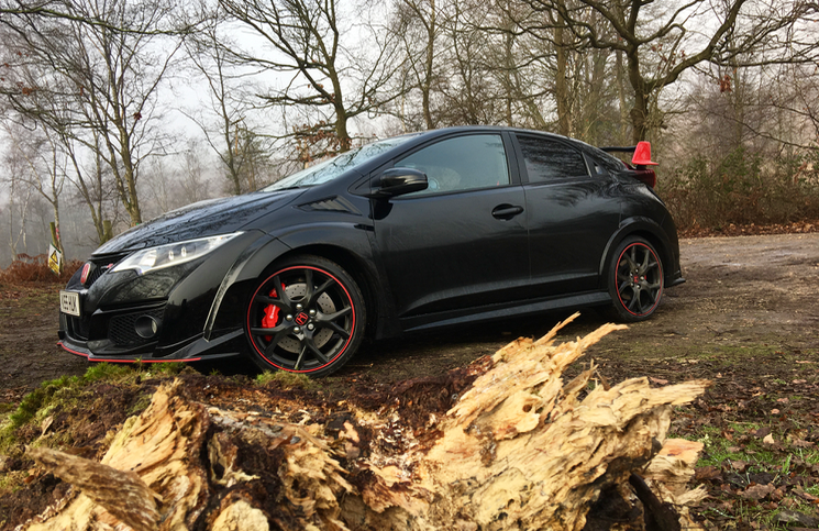 2016 Honda Type R Black Edition front
