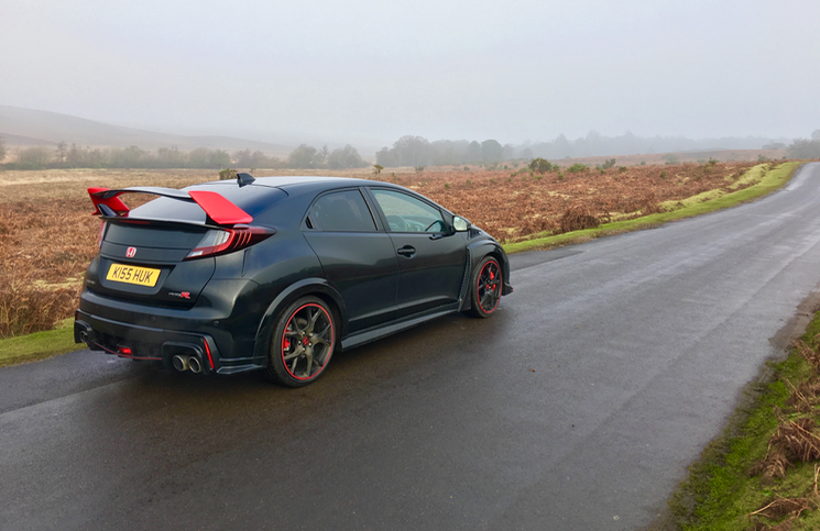 2016 Honda Type R Black Edition rear
