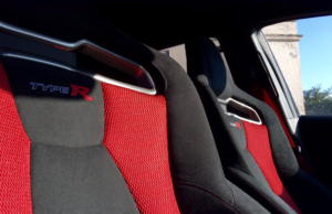 2016 Honda Type R Black Edition seats