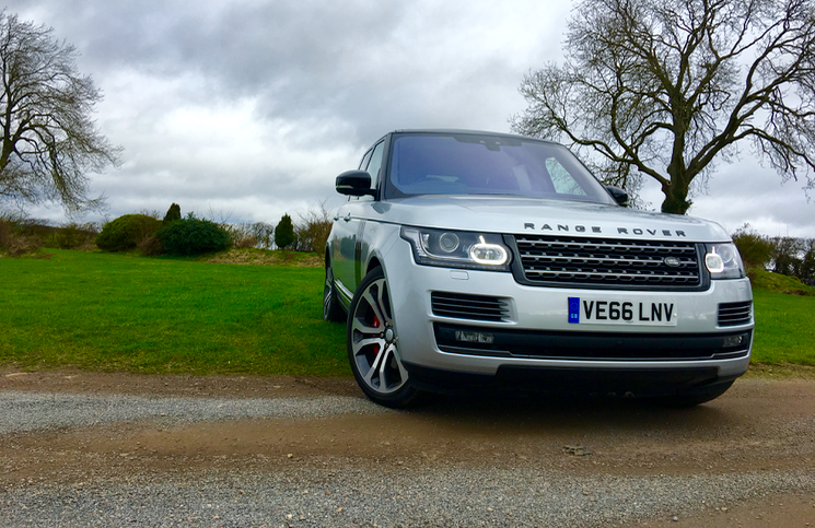 Range Rover SV Autobiography Dynamic front