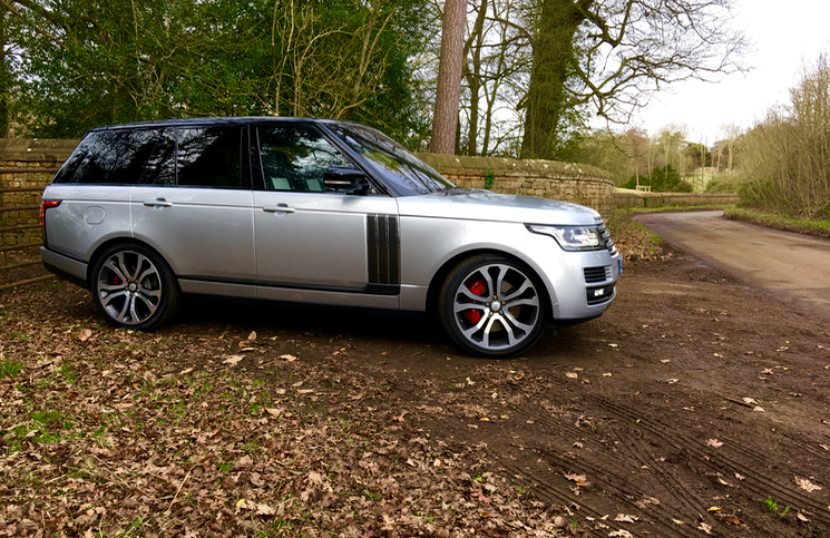 Range Rover SV Autobiography Dynamic profile