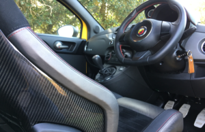 2017 Abarth 695 Biposto Record interior