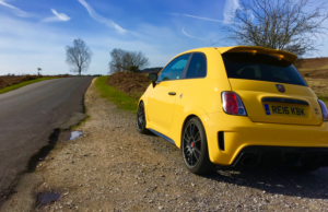 2017 Abarth 695 Biposto Record rear