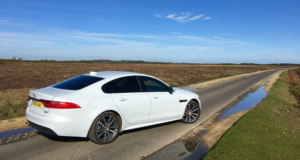 2017 Jaguar XF AWD rear