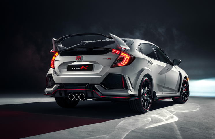 2018 Honda Civic Type R rear