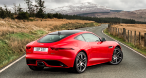 2 litre Jaguar F-Type