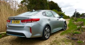 2017 Kia Optima PHEV rear