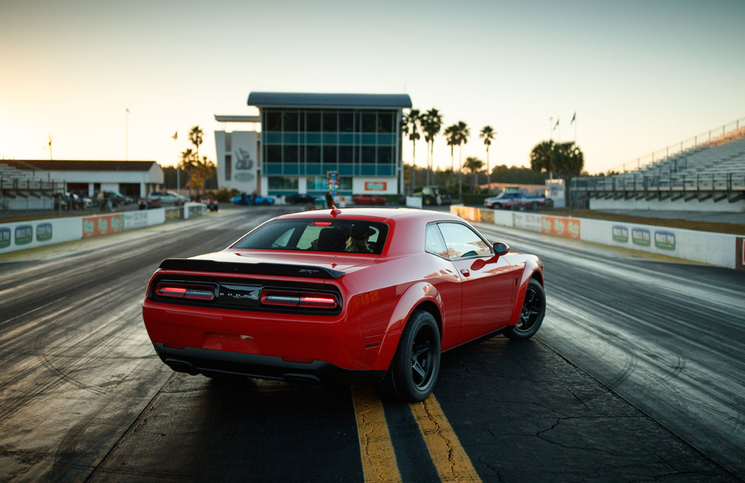 Dodge Challenger SRT Demon rear