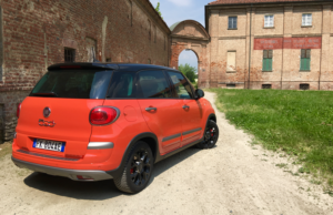 2017 Fiat 500L Cross rear