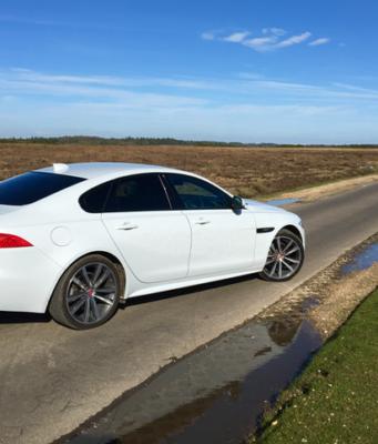 2017 Jaguar XF AWD rear