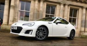 2017 Subaru BRZ front