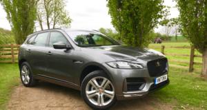 2018 Jaguar F-Pace front
