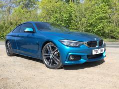 2017 BMW 4 Series 420d M Sport front
